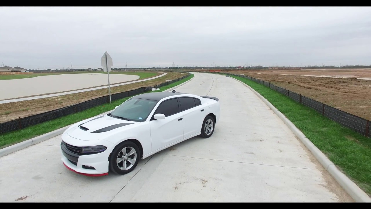 2015 Dodge Charger Hellcat Hood Swap With Custom Interior Youtube