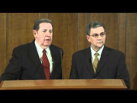 3/15/11 - (Full Press Conference) Elder Jeffrey R. Holland Gives Update on Church in Japan