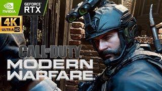 Call of Duty: Modern Warfare - Full Campaign | Realism | Ray Tracing | Ultra PC | 4K | RTX 2080 Ti