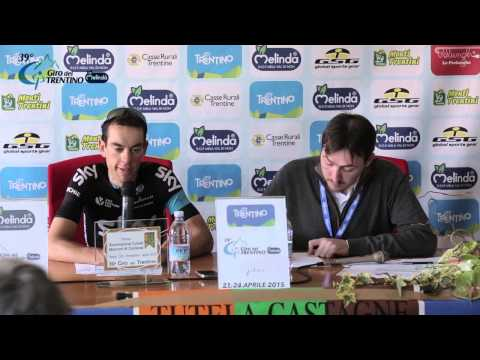 Giro del Trentino Melinda 2015 - Richie Porte's press conference April 22nd