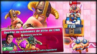¡¿ EL DESAFÍO DE YOUTUBERS MAS GUARRO ?! - Clash Royale - WithZack