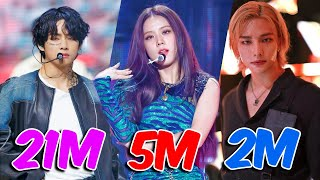 The Most VIEWED K-Pop FANCAMS of 2020!