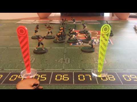Fourth Quarter Football game play 1: setup