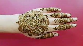 Ramazan Eid Special Henna Design 19 Clip Fail