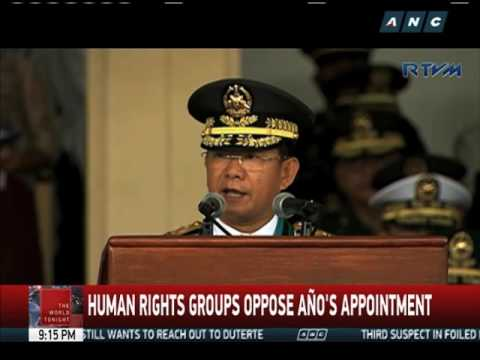 Army chief Año is new AFP chief of staff
