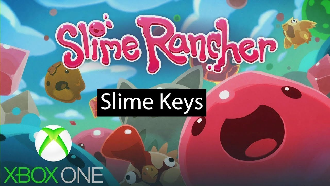 Slime Rancher Xbox One Gameplay Slime Keys YouTube