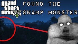 gta 5 finding the swamp monster the rake