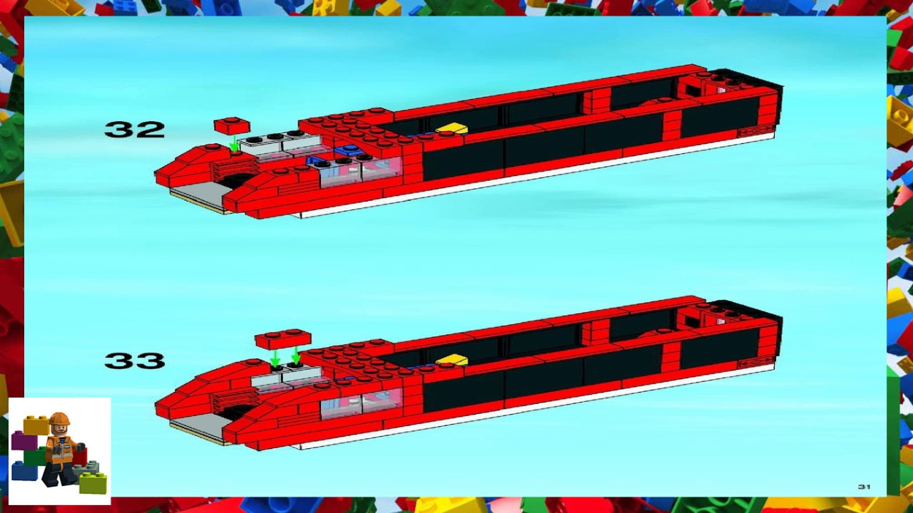 Lego Instructions City Trains 7938 Passenger Train Book 2
