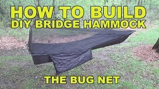 Diy Bridge Hammock Bug Net