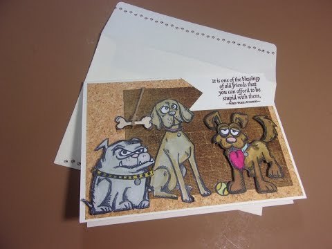 funny-birthday-card-using-crazy-dogs-stamps-by-tim-holtz