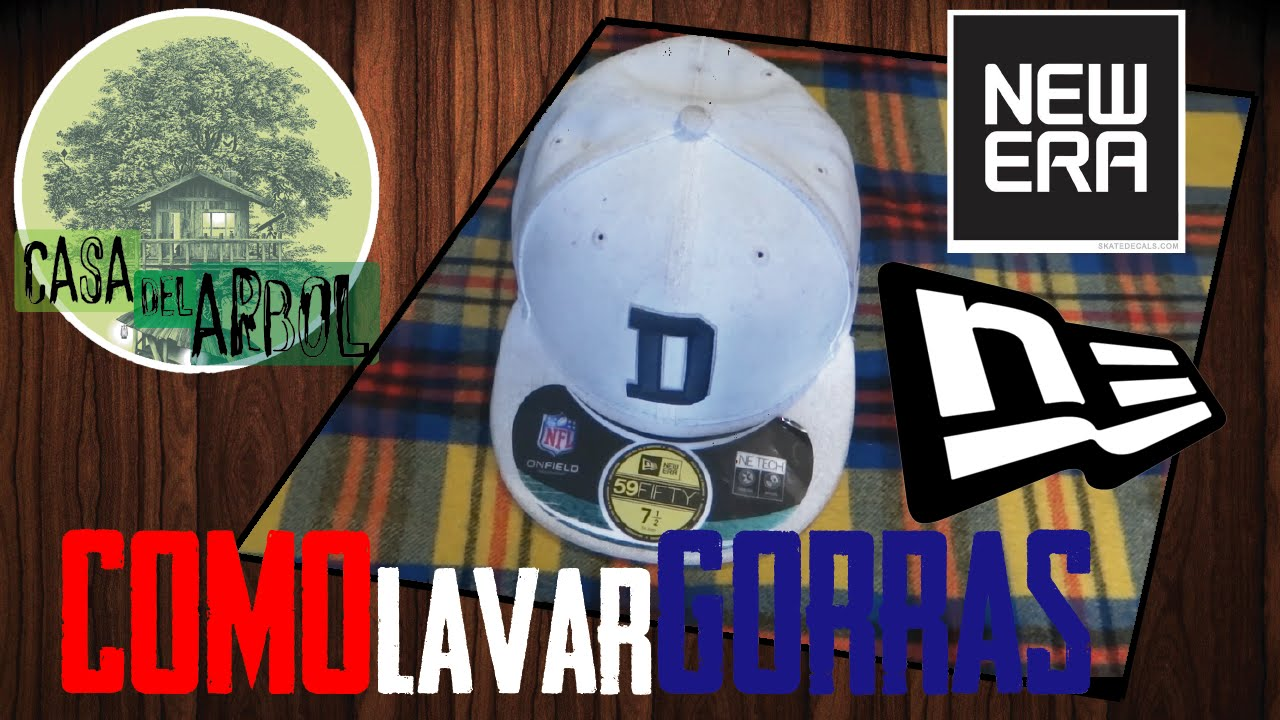 c3f711fc86151 COMO LAVAR TUS GORRAS New Era 59Fifty Fitted
