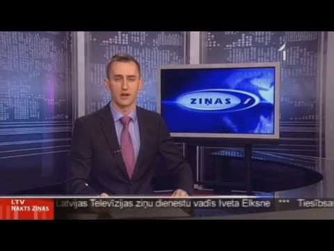 LTV1 (Latvian Television) news ident | April 2013
