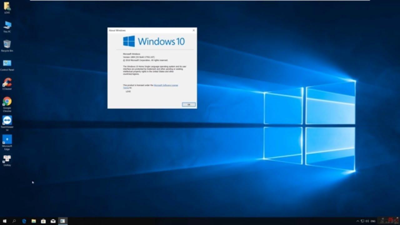 Ghost Windows 10 mới nhất ver2004 2020 hỗ trợ Intel Optane, fixed full 100% disk