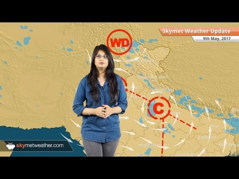 Weather Forecast for May 9: Rain in Delhi, Bengaluru, Hyderabad, Kolkata; heatwave in Rajasthan