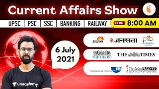 8:00 AM - 6 July 2021 Current Affairs | Daily Current Affairs 2021 by Bhunesh Sir | wifistudy