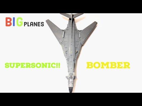 LEGO modern supersonic bomber b-1b