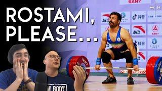 Rostami Wins \u0026 Loses... w/ Seb and Sergii Putsov REACTION   M89kg Asian Championships