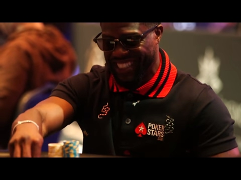 Kevin Hart is Making Poker Cool at the PokerStars Championship Monte Carlo