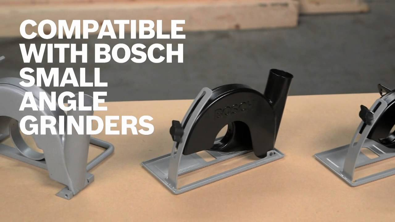 Bosch Power Tools Grinder Dust Collection Guards Product
