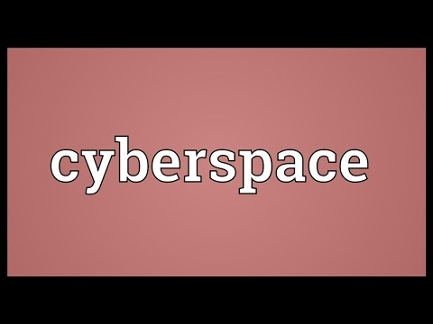 Cyberspace Meaning