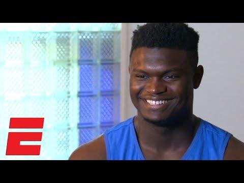 Zion Williamson on Duke, Coach K relationship, recruitment, best dunk | College Basketball Interview