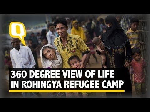 Crowded, Hot & Sparse: A 360 View of Life in Rohingya Refugee Camp | The Quint