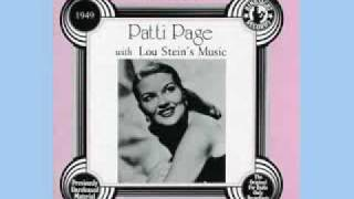 Let Me Call You Sweetheart  ~Patti Page