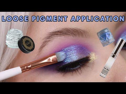 HOW TO APPLY LOOSE EYESHADOW | 2 Easy Ways | Featuring Karla Cosmetics