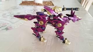 Zoids Orchid Fox - Rank 5 Western Continent (Shadow Fox Custom)