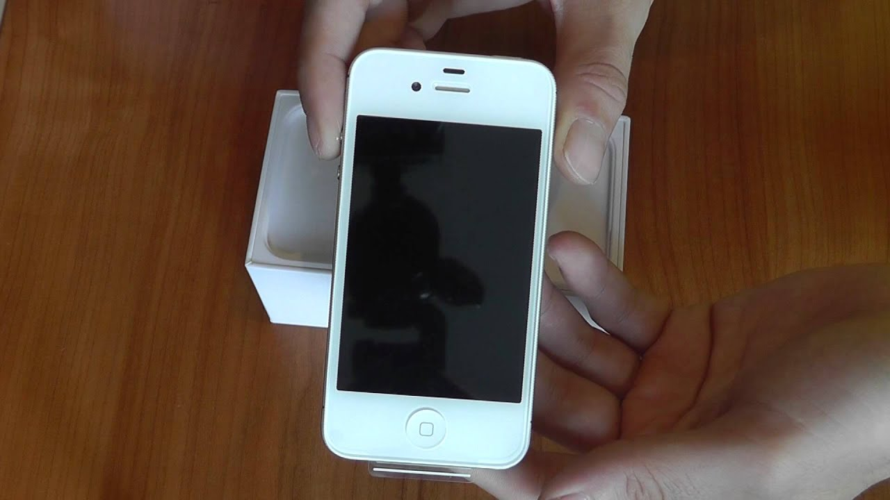 apple iphone 4s 64gb white unboxing youtube. Black Bedroom Furniture Sets. Home Design Ideas