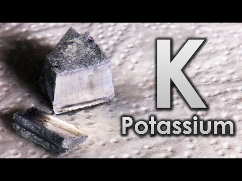 Potassium - The Active ALKALI METAL!