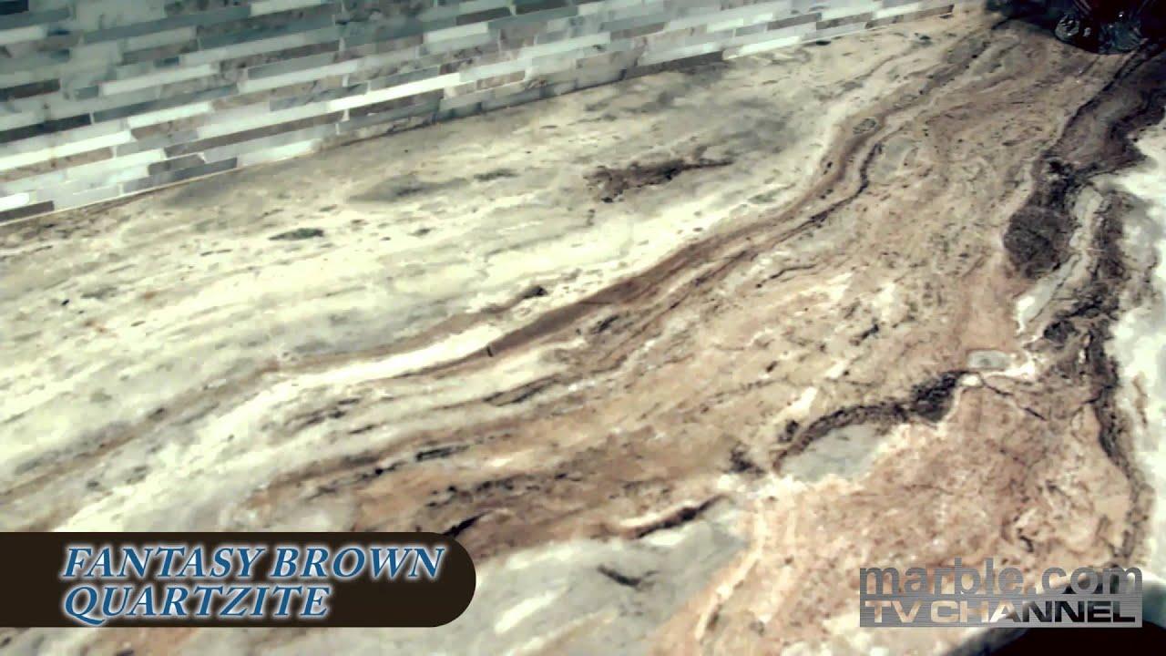 Fantasy Brown Quartzite Kitchen Marble Com Youtube