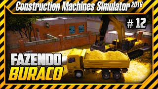 Construction Machines Simulator 2016 - Fazendo a Base - Tirando Terra