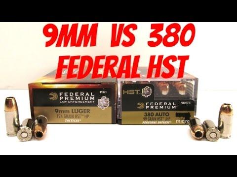 federal hydra shok 380 ballistics by the inch