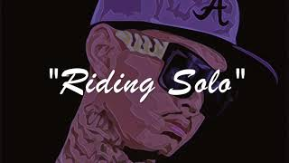 """$tupid Young x Nipsey Hussle x Mozzy Type Beat - """"Riding Solo"""""""