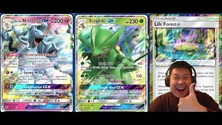 SCEPTILE GX Deck, Big HEALING Combos, Strong ABILITY Flow