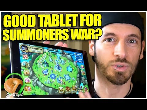 Is the FIRE HD a Good Inexpensive Tablet for Summoners War? (iPad vs Fire HD Comparison)