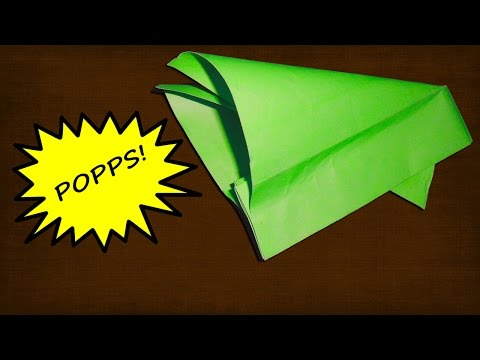 How to Make a Paper Popper (Super Loud and Easy).