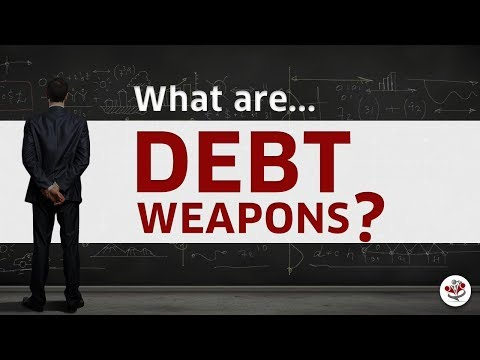 Increase CASH FLOW, Eliminate INTEREST COSTS, DEBT FREE & More!? (DEBT WEAPONS 101)