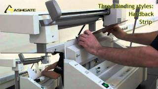 Fastbind Elite XT hot glue perfect binding system from Ashgate Automation Ltd