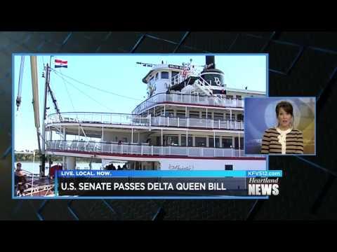 KFVS: McCaskill Sponsors Legislation to Bring Delta Queen Back to Missouri Waterways