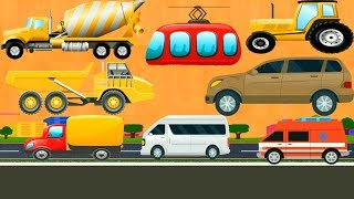 Car & Vehicles Puzzle for Kids Construction Vehicles for Children