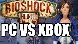 Bioshock Infinite Graphic Comparison PC Vs Xbox 360 Bioshock Infinite PC MAX Settings Vs XBox 360