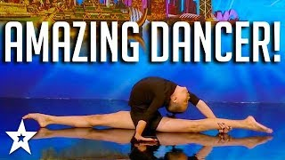 AMAZING CONTORTION DANCER on Asia