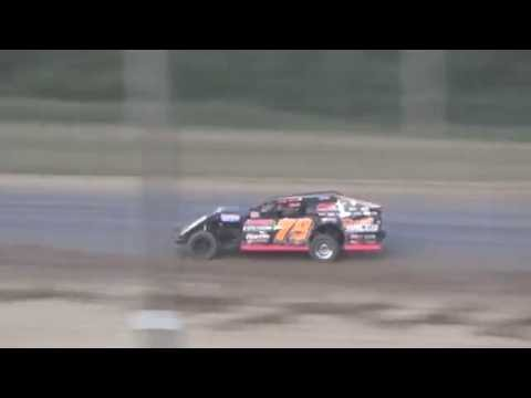 I.M.C.A B-Feature #2 at Crystal Motor Speedway, Michigan on 07-02-16.