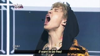 Cover images Henry - Trap (2013.06.22) [Music Bank w/ Eng Lyrics]