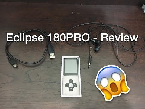Should you buy Eclipse 180 PRO? - MP3 player Review
