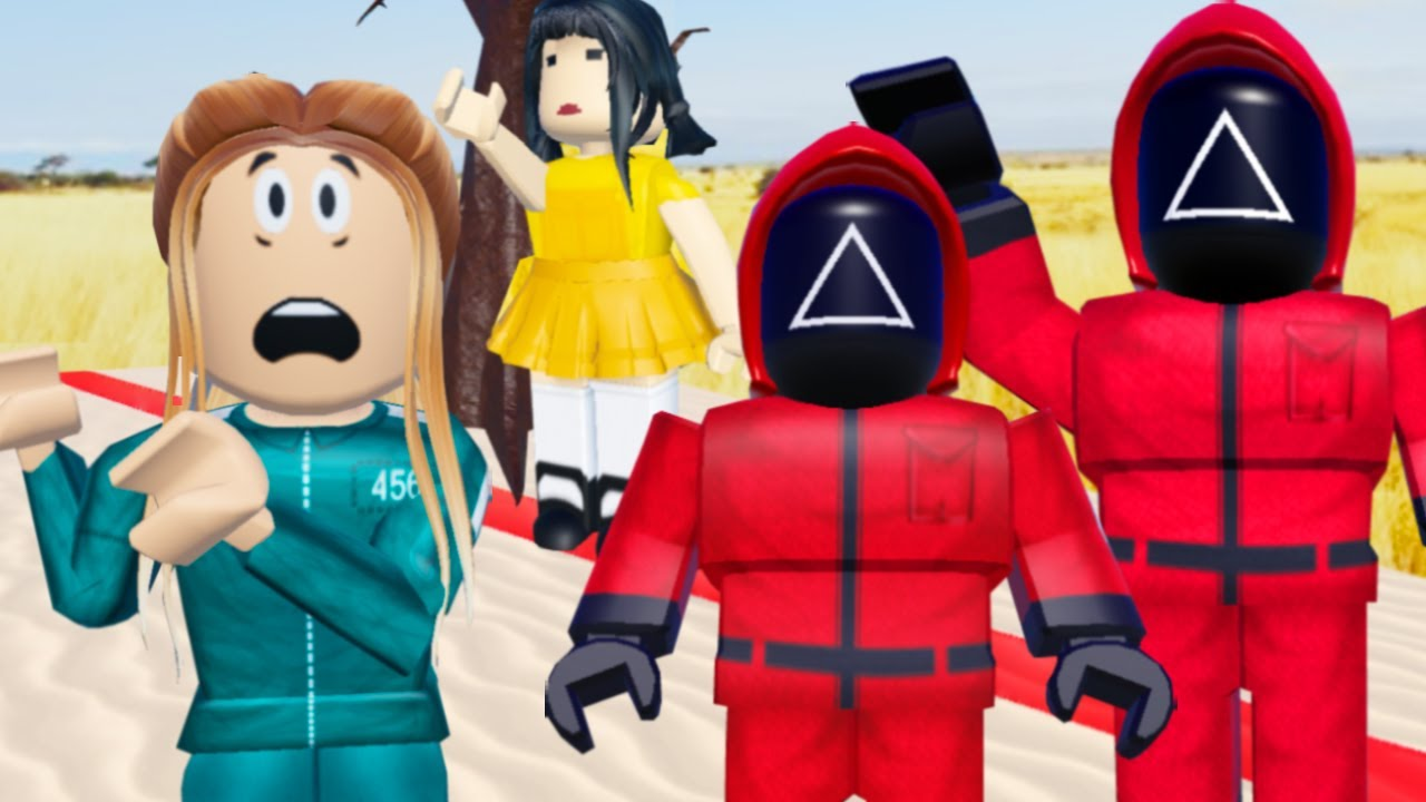 My PARENTS Were SECRETLY SQUID GAME GUARDS! (Roblox)