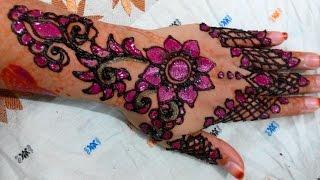 Full Hand Bridal Eid Pakistani Indian Mehndi Designs - Boondi Mehendi Designs