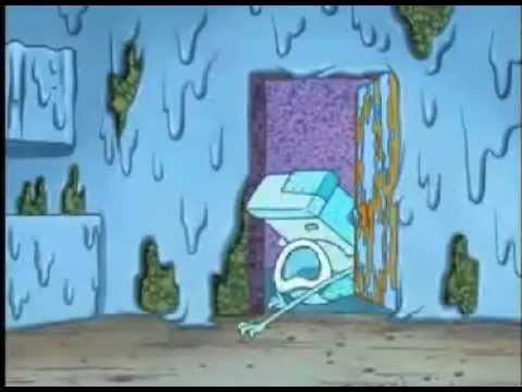 Spongebob House Fancy Clip Bathroom